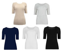 M&S Marks and Spencer Pointelle Thermal Ladies Short Sleeve Warm Vest UK 6-22