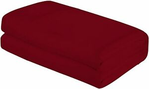 Royale Linens King Size Flat Sheet Only - Soft & Breathable - Brushed 1800 Micro