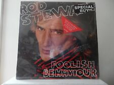 "ROD STEWARD - FOOLISH BEHAVIOUR -  WB RECORDS-HS-3485 - ""SEALED"" - WITH POSTER"