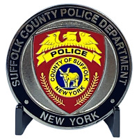 DL5-14 SCPD LI Suffolk County Police Department Long island Dept. Challenge Coin