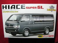 Toyota Hiace Super GL 2004 Mini Van 1:24 Aoshima Plastic Model Kit Japan Rare