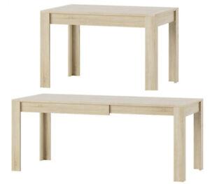 Esszimmertisch Esstisch Auszugstisch Tisch Esszimmer 120-190 cm Eiche Sonoma