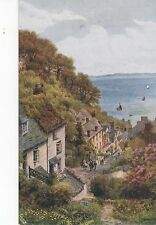 Clovelly from above Salmon 2363 A R Quinton