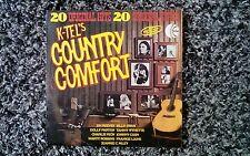 """K - Tel's Country Comfort (1976) 12"""" Vinyl LP"""