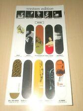 catalog vintage skateboard western edition ftc circa 2000 .E