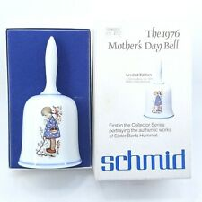 Vintage Sister Berta Hummel Schmid Porcelain Collectible 1976 Mothers Day Bell