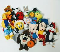 Warner Brothers Looney Tunes 1999 Character Plush Calendar Original Lot of 10