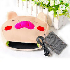 Computer PC Laptop Plush USB Hand Warm Warmer Electric Heat Cute Mouse Pad Mat