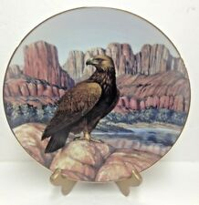 """""""Silent Watch"""" Golden Eagle from Majesty of Flight Collector Plate Nib"""