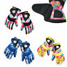 Waterproof Winter Skiing Snowboarding Gloves Warm Mittens For Kids Full-Finger