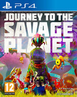 Journey Para El Savage Planeta PS4 PLAYSTATION 4 SP4J01 505 Games