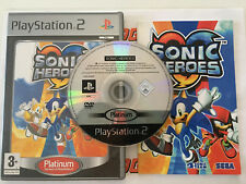 Sonic Heroes - Platinum > Playstation 2 (PS2) > Complet > PAL FR