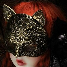[Dollmore] 1/3 1/4 BJD All Size - Cat Grassi Mask (Antique Gold)