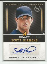 2013 Pinnacle Autographs Artists Proof #SD Scott Diamond Auto #d 19/25 Twins