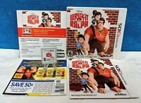 Wreck-It Ralph (Nintendo 3DS, 2012) Complete with Manual - Tested & Working