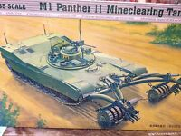 KIT MAQUETA M1 PANTHER II MINECLEARING TANK 1:35 TRUMPETER 00346