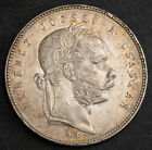 1869, Kingdom of Hungary, Franz Joseph I. Silver Forint Coin. Kremnitz mint!