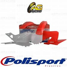 Polisport Plastics Box Kit For Honda CR 125R CR 250R OEM Colour Kit 1998-1999