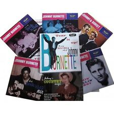 JOHNNY BURNETTE - BOXSET 6 EP LIMITED 500 COPIES -ROCKABILLY - SLEAZY - NEW