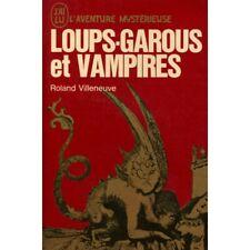 Loups garous et vampires / Villeneuve, Roland / Réf: 35837