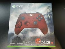 "Official Xbox One ""Gears of War 4 Crimson Omen"" Wireless Controller BN & Sealed"