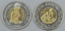Osterinsel / Easter Island 500 Pesos 2007 unc.