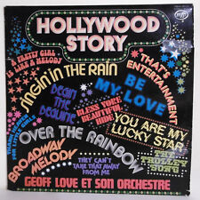"33 tours Geoff LOVE Orchestre Vinyle LP 12"" HOLLYWOOD STORY Films MFP 96539"