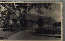 Zweiter Weltkrieg (1939-45) Frankierte Echtfoto aus Niedersachsen für Architektur/Bauwerk