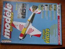 $$6 Revue modele magazine N°667 Plan encarte Crobe  Katana 2 m  P-47 Thunderbolt