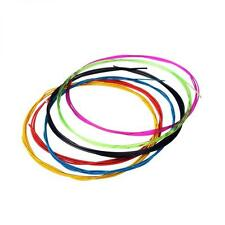 6PCS Colourful Classical Guitar Strings 0.028-0.043in Nylon Copper Alloy Wound