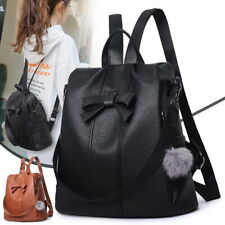 024940833699 Faux Leather Backpack Brown Bags & Handbags for Women | eBay