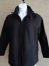 New Just My Size Cotton Blend Fleece Lined Zip Front Mock Neck Jacket 2X Pink