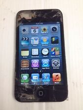 iPod Touch 4th Gen 8 GB black   Cracked Screen & LCD