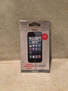 Display Protectors for iPhone 5. 3-Pack new