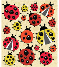 Ladybugs Fly Away Home Yellow Red Black Spots Insects  K&Company 3D Stickers