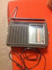 New listing Vintage Ge General Electric Television Audio Portable Radio Model P4930A Tested