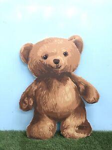 Giant MDF Teddy Bear Fluffy Kids Party Nursery Toy Picnic Prop Decoration XM
