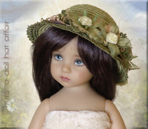 SASSY SAGE Doll Hat Effner Little Darling Ellowyne Prudence Iplehouse SID EID