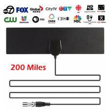 Chaîne amplificateur antenne TV TNT intérieur numérique 200 milles HDTV SD PB