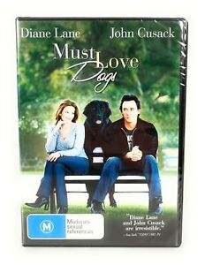Must Love Dogs (DVD, 2005) Diane Lane New & Sealed Region 4 Free Postage