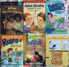 Lot of 6 Chapter Books with boys as main character VGC Paperback