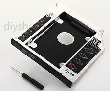 2nd 12.7mm SATA Hard Drive HDD Caddy for ASUS M50V N50V G50V N55S swap TS-L633A
