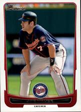 2012 Bowman Baseball #87 Joe Mauer Minnesota Twins