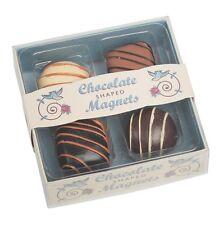 dotcomgiftshop SET OF 4 CHOCOLATE FRIDGE MAGNETS
