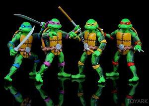 Teenage Mutant Ninja Turtles Classic Arcade SDCC Exclusive Figure 4-Pack TMNT