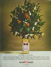 Publicité Advertising 1967 Parfum Eau Cologne Jean Marie Farina ROGER & GALLET