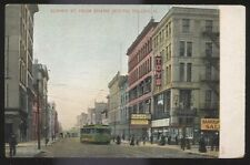 Postcard TOLEDO Ohio/OH  Summit Street Toy Store Bankrupt Sale view 1906?
