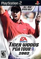 Tiger Woods PGA Tour 2002 (Sony PlayStation 2, 2002) Complete with manual