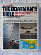 THE BOATMANS BIBLE BOOK MARITIME NAUTICAL MARINE SAIL BOAT (#158)