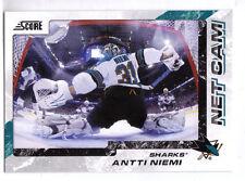ANTTI NIEMI - 2011/12 SCORE - NET CAM - SAN JOSE SHARKS
